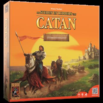 De Steden en Ridders van Catan vindt je op spellenpaleis.nl