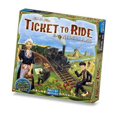 Ticket to Ride: Nederland kopen? www.spellenpaleis.nl