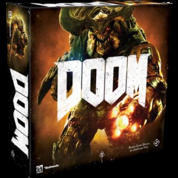 Bordspel Doom vindt je bij www.spellenpaleis.nl