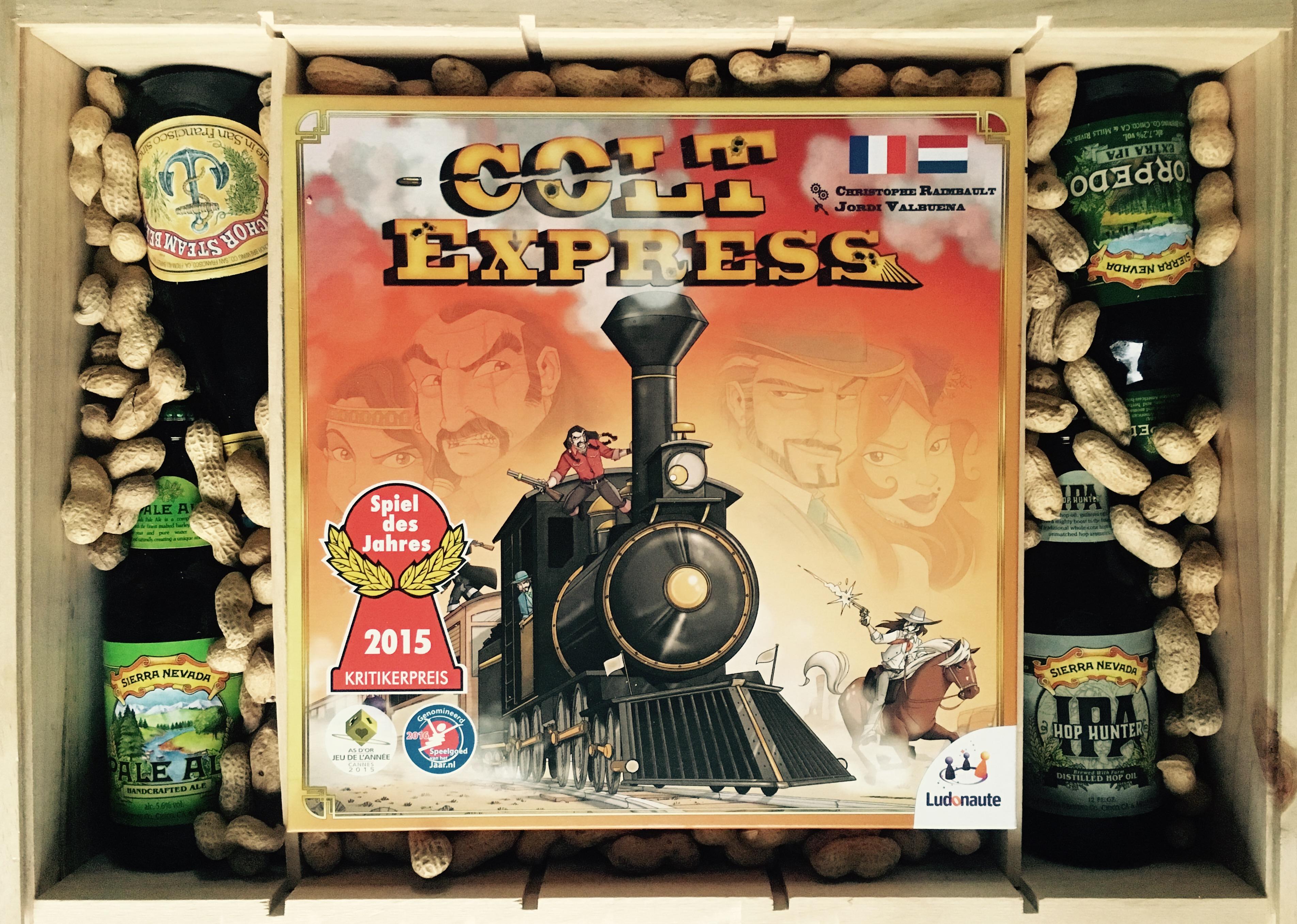 Giftbox Colt Express vindt je alleen op spellenpaleis.nl